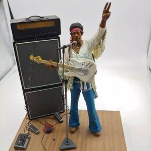 Jimi Hendrix 1969 Woodstock Figure Set